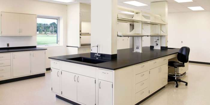 Epoxy Resin Lab Countertops