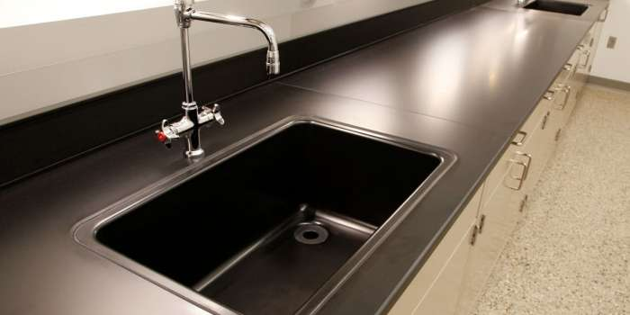 Epoxy Resin Lab Sinks